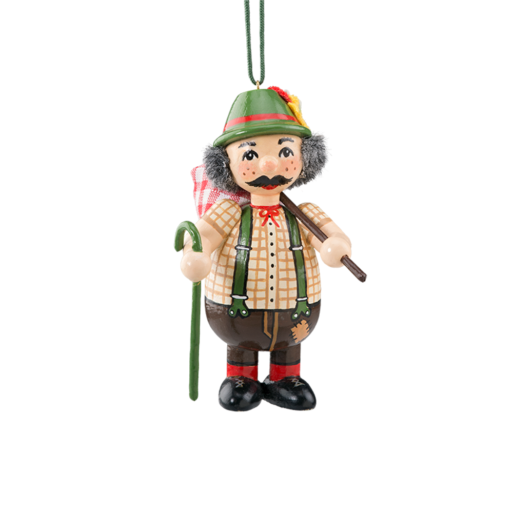 Holzbuddy Hiker Wood Ornament