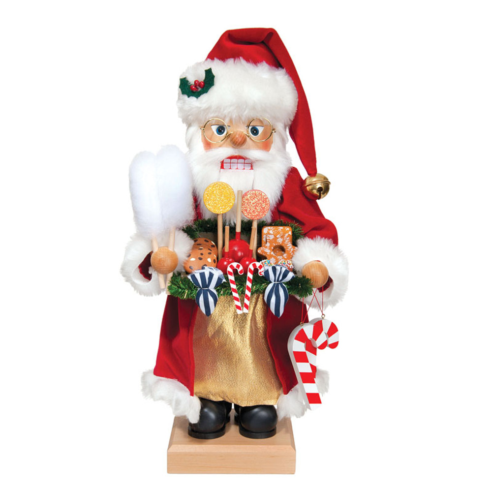 Candy Santa Nutcracker