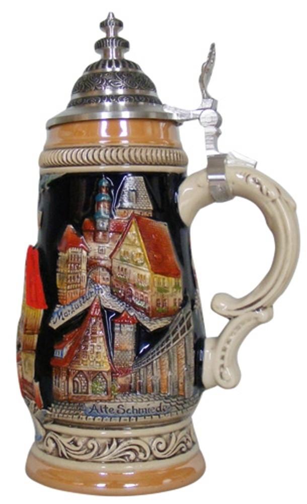 Rothenburg City Scape Beer Stein