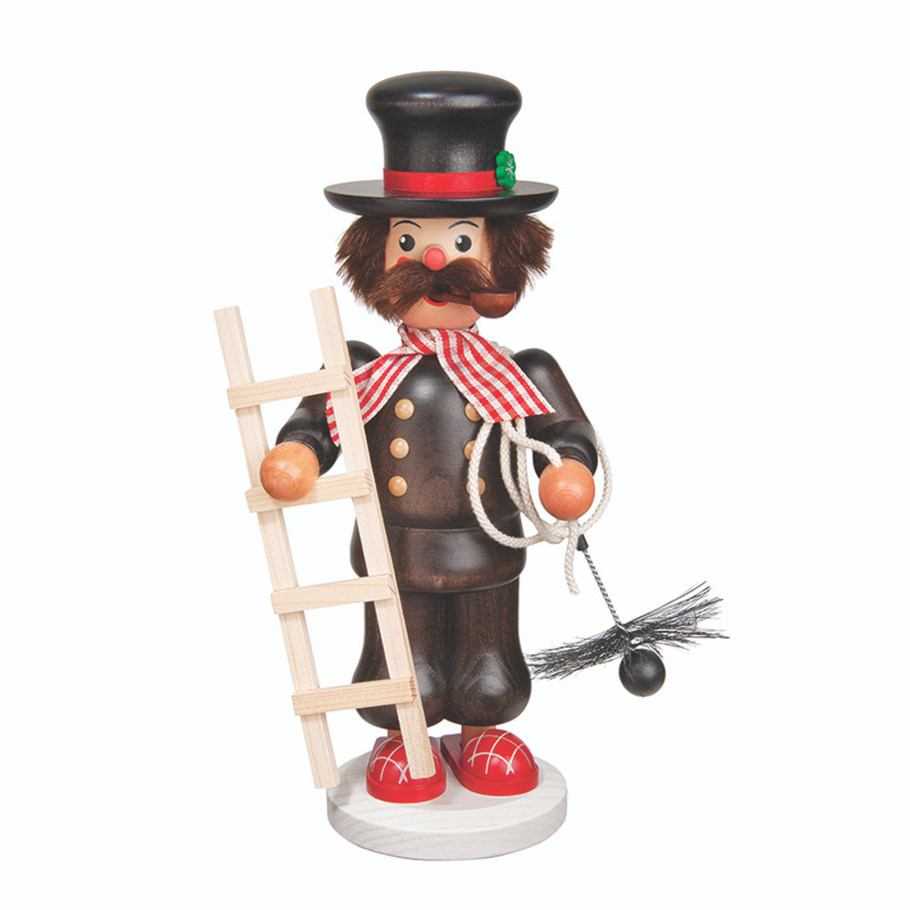 Chimney Sweep with Checkered Scarf