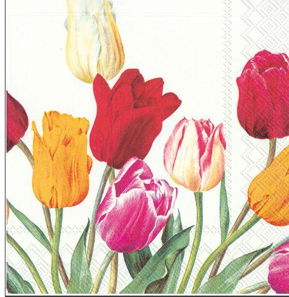 Tulip Bouquet Napkins