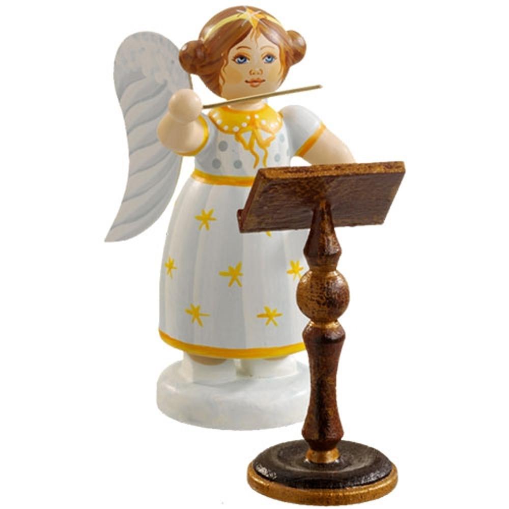 Yellow Stars Angel Conductor