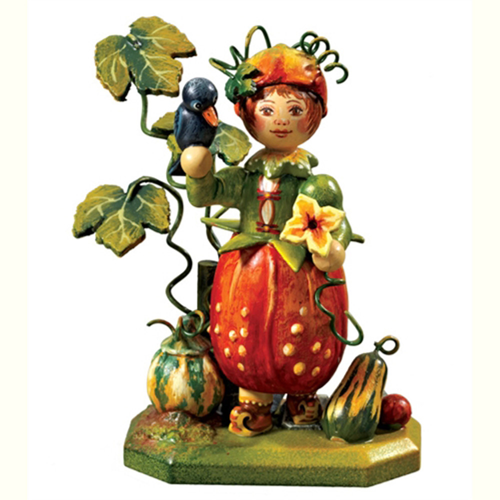 Pumpkin Girl Annual Flower Child