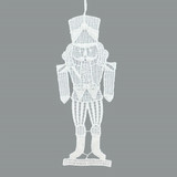 Nutcracker Linen Ornament