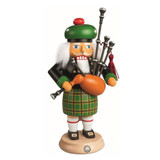 Scotsman Playing Bagpipes Nutcracker