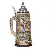 German Heritage Beer Stein