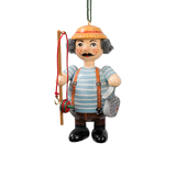 Holzbuddy Fisherman Wood Ornament