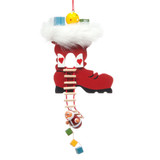 Boot with Santa