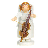 White Dress Angel with Cello