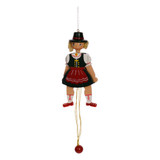 Bavarian Girl Jumping Jack