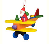 Santa on Airplane
