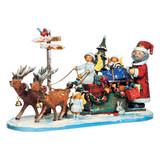 Santa's Reindeer Sleigh