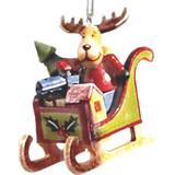 Reindeer in Sleigh