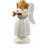 White Dress Angel Choir Singer