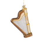 Harp Glass Ornament