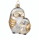 Silver and Gold Owl and Child