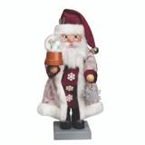Santa with Snow Globe