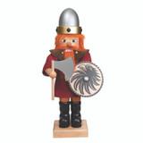 Viking Nutcracker in Red
