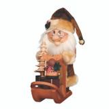 Dwarf Santa with Sled