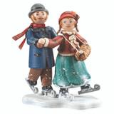 Ice Skating Couple
