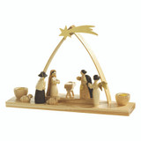 Nativity Candleholder Natural