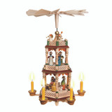 Two Level Holy Family w/Columns
