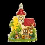 Bunny ringing church bell