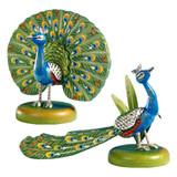 Two Peacocks