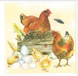 Farmhouse Chicken Napkins