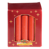 Large Red Candles