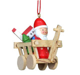 Santa and Toys in Wagon