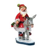 St. Nicholas Traveling by Donkey