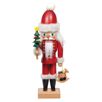 Santa Claus with Tree & Toys