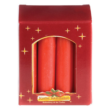 Small Red Candles