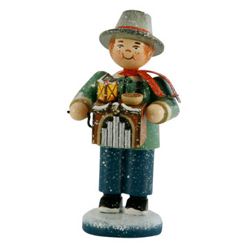 Boy with Barrel Organ