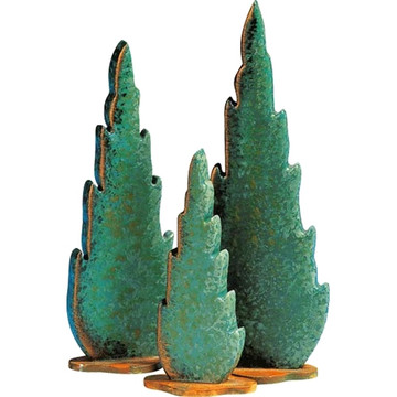 Cypress Trees (set of 3)