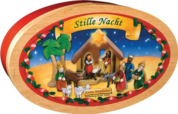 Nativity Scene, Holy Night, 15pc set