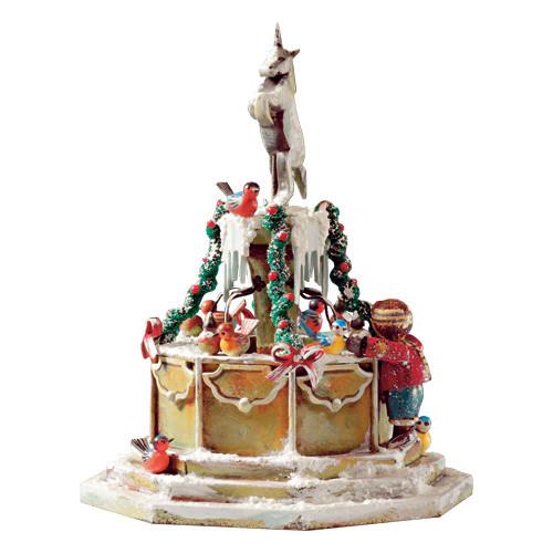Unicorn Winter Fountain