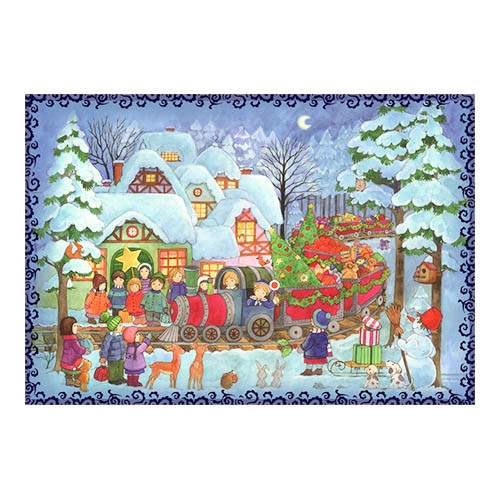Children's Christmas Trains Advent  Calendar