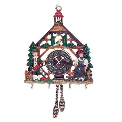 Cuckoo Clock with Couple