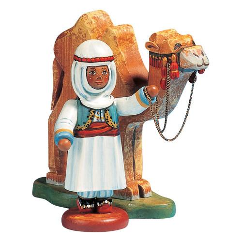 Caravan Leader with Camel