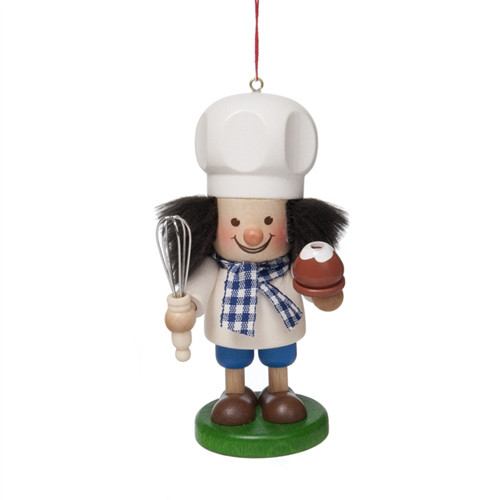 Baker with Whisk