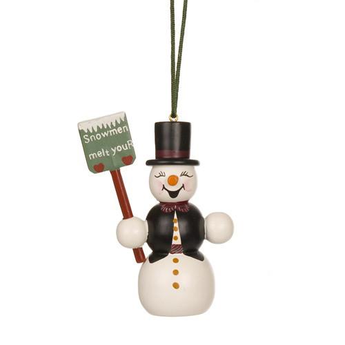 Snowman with Shovel