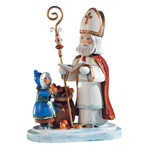 Saint Nicholas Greeting the Children