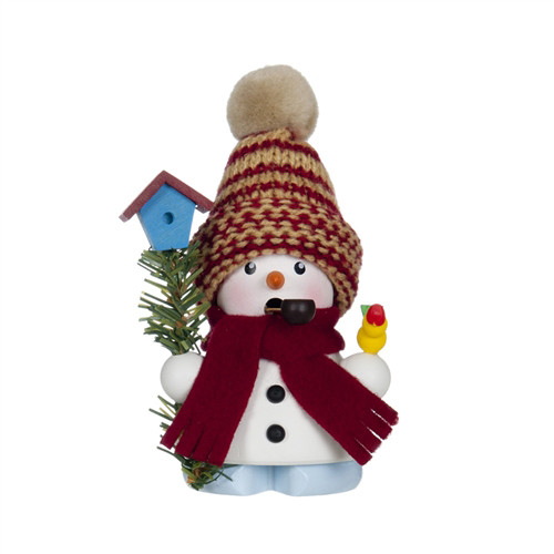 Snowman in Woolen Hat