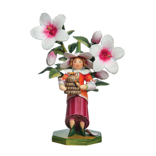Hibiscus 2017 Annual Flower Child Limited Edition Figurine