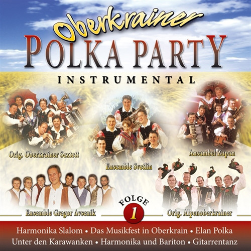 Oberkrainer Polka Party Instrumental Music CD
