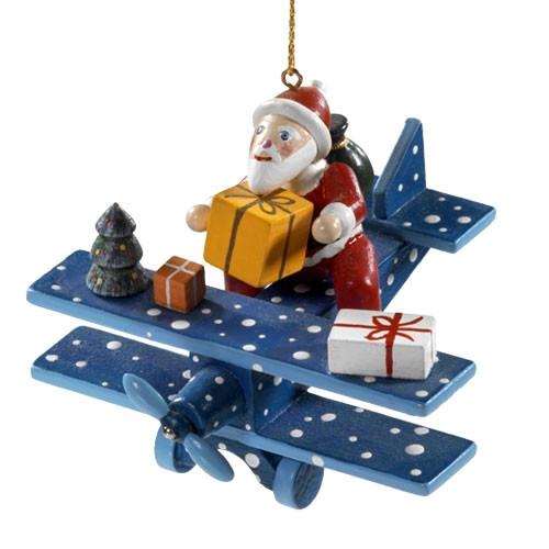Santa in a Airplane