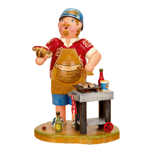Grilling Bratwurst Incense Smoker