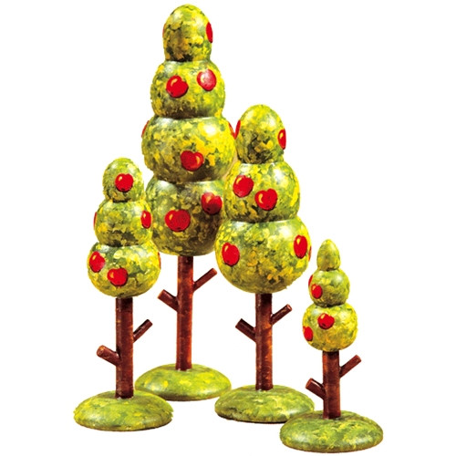 Summer Trees (set of 4)